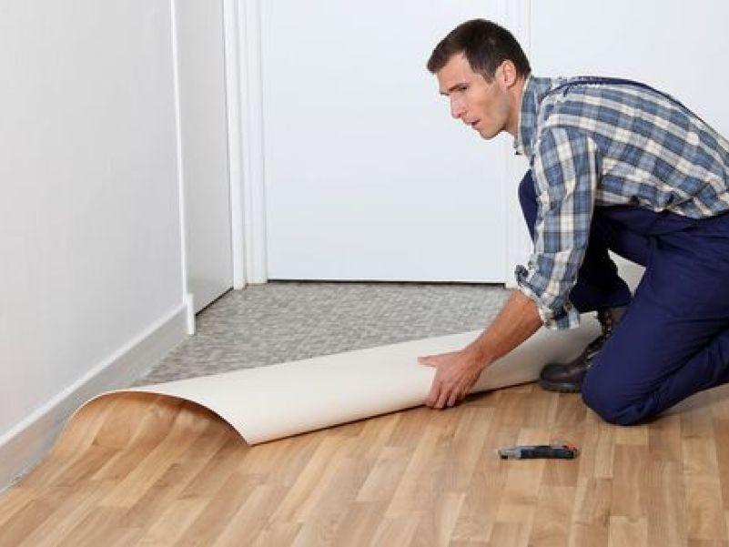 Hirepool How To Lay Vinyl And Lino, Can You Put Lino On Concrete Floor