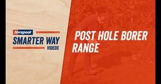 Hirepool   Post Hole Borer Motorised One Person